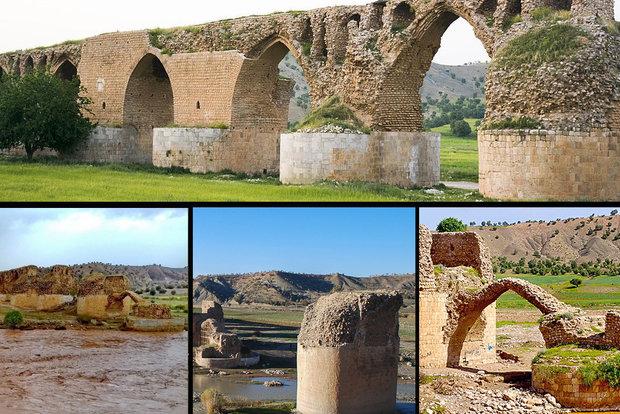 حال ناخوش مادر پلهای تاریخی ایران/کشکان را آب برد،مسئولان را خواب