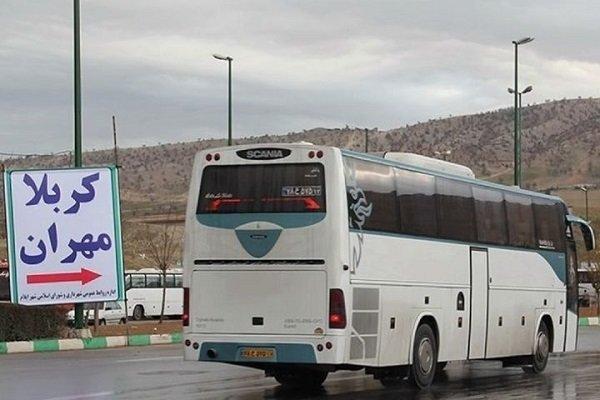 احتمال تردد ۸۰۰هزار زائر ازخسروی/ ۱۵هزار اتوبوس درخدمت اربعینیها