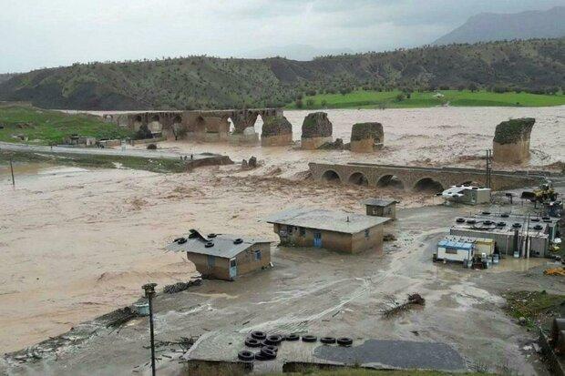 مرمت پل تاریخی «کشکان» آغاز شد