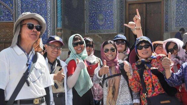 بیش از سه میلیون گردشگر خارجی در سه ماه اول سال به ایران آمدند