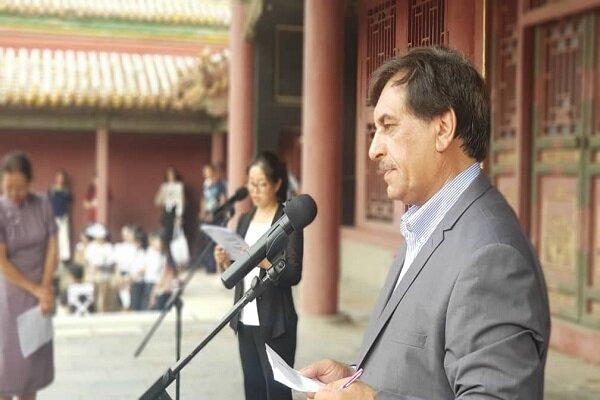 حضور یک مدیر میراثی در نمایشگاه دنیای لونگ چوانگ