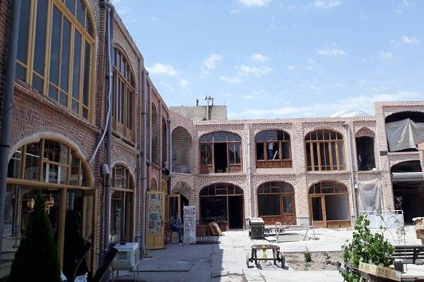 مرمت قسمت های سوخته بازار تبریز در مراحل پایانی است