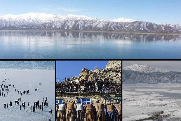 زمستان کردستان چشمانتظار گردشگر/یخچالهای طبیعی جلوه گری میکنند