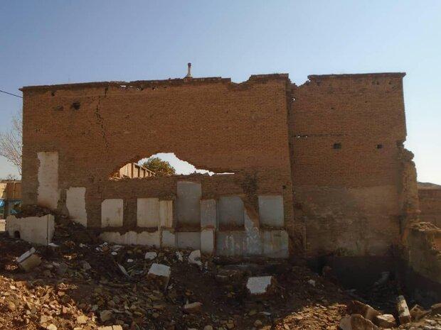 تخریب ۸۰ درصدی خانه ثبت ملی شده رسولی در بافت شیراز