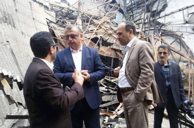 سالن سینما و تئاتر هتل سوخته رامسر مرمت میشود
